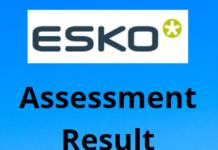 Esko exam result