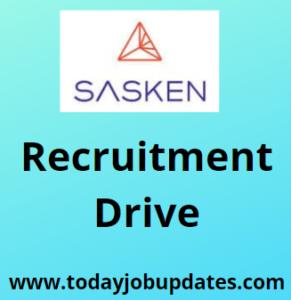 Sasken Recruitment Drive