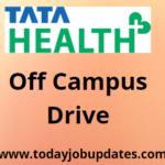 TATA Health hiring freshers